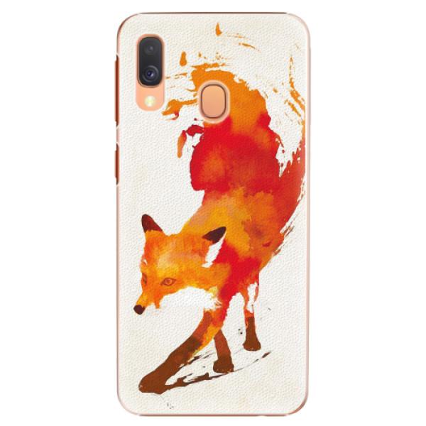 Plastové pouzdro iSaprio - Fast Fox - Samsung Galaxy A40