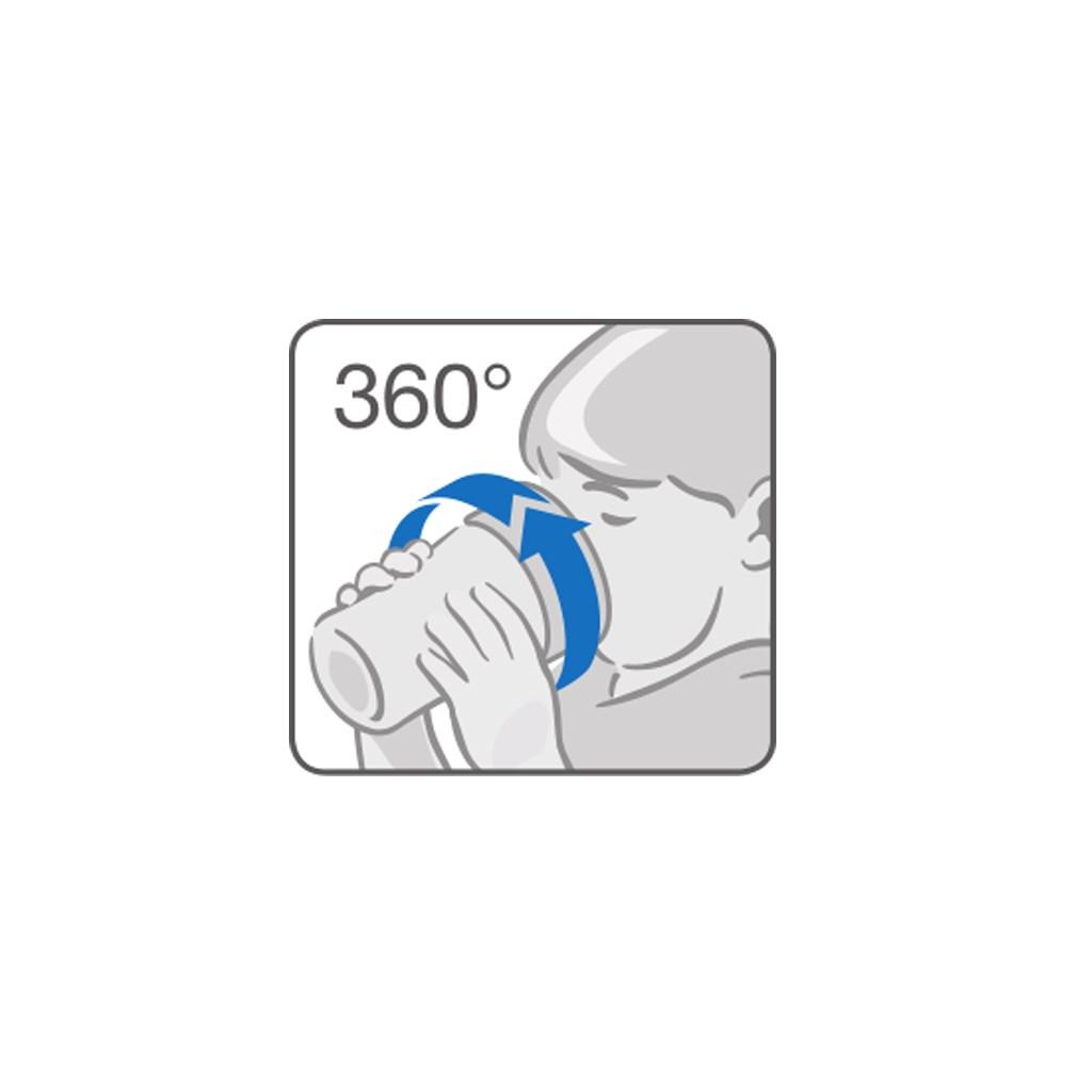 Dětský hrníček Magic NUK 360° s víčkem