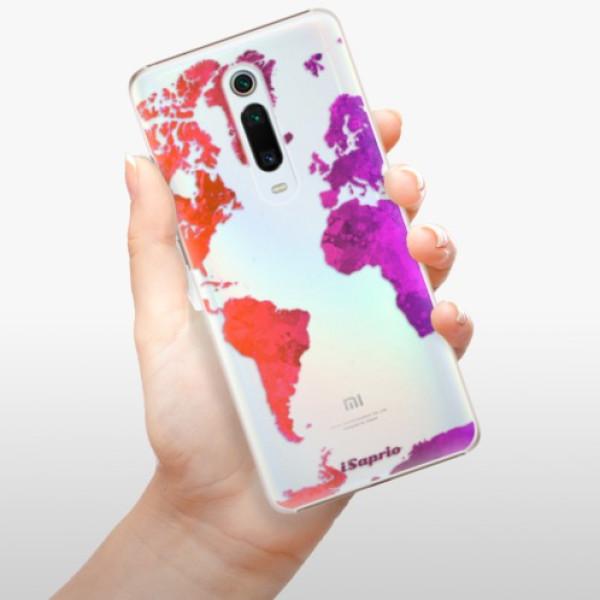 Plastové pouzdro iSaprio - Warm Map - Xiaomi Mi 9T Pro