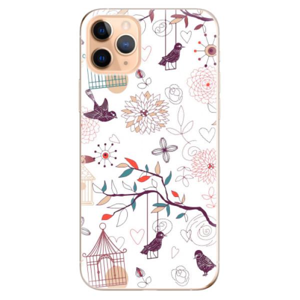 Odolné silikonové pouzdro iSaprio - Birds - iPhone 11 Pro Max