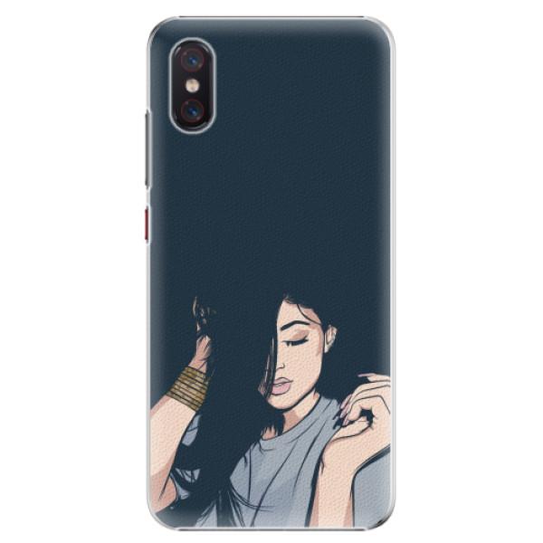 Plastové pouzdro iSaprio - Swag Girl - Xiaomi Mi 8 Pro