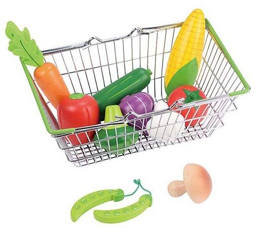 Lelin Nákupní košík se zeleninou
