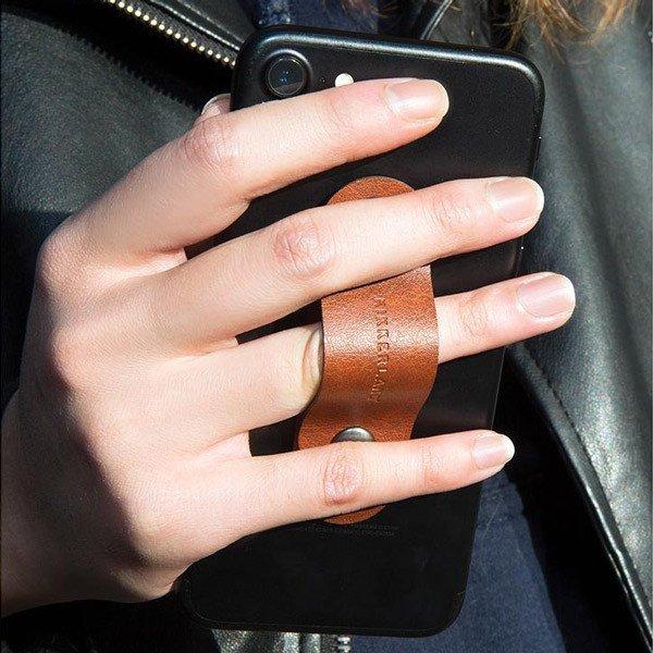Prstový držák na telefon