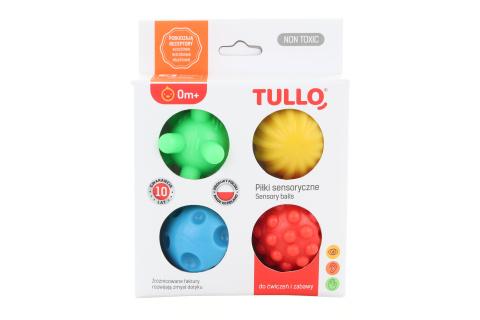 Senzorické balónky 4 ks