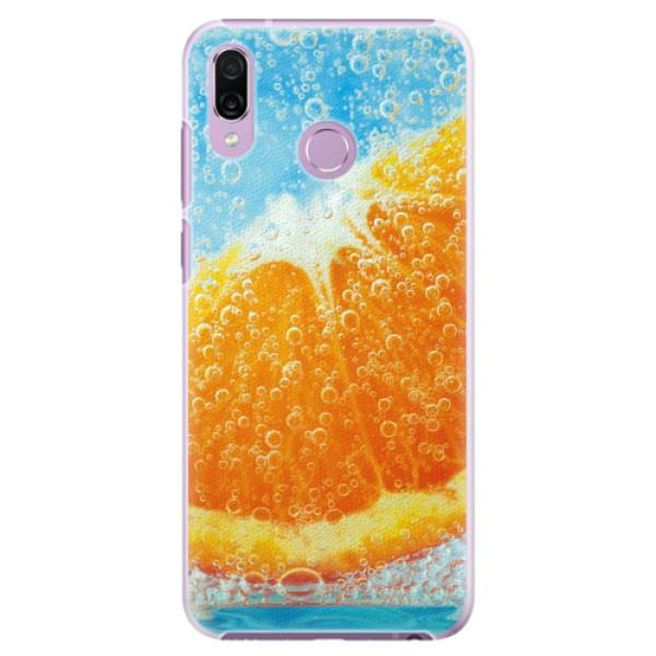 Plastové pouzdro iSaprio - Orange Water - Huawei Honor Play