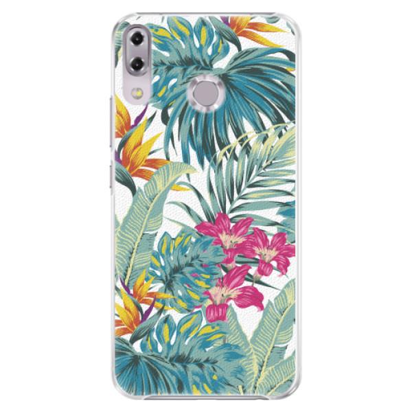 Plastové pouzdro iSaprio - Tropical White 03 - Asus ZenFone 5Z ZS620KL