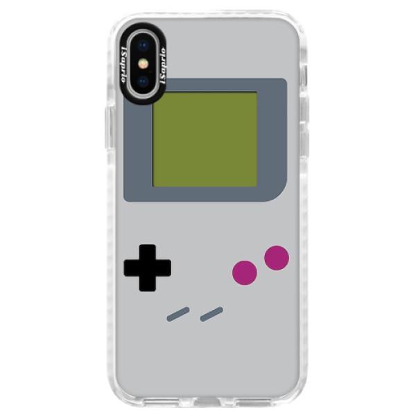 Silikonové pouzdro Bumper iSaprio - The Game - iPhone X