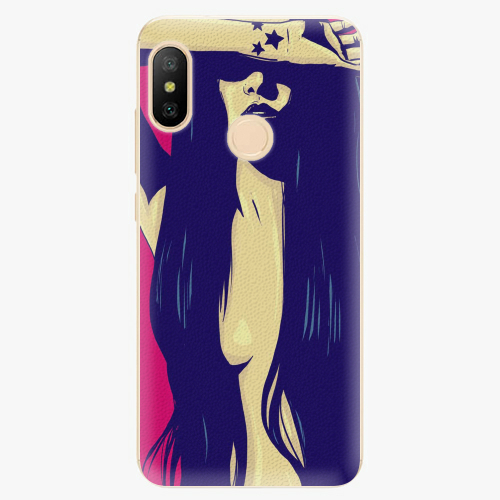 Silikonové pouzdro iSaprio - Cartoon Girl - Xiaomi Mi A2 Lite