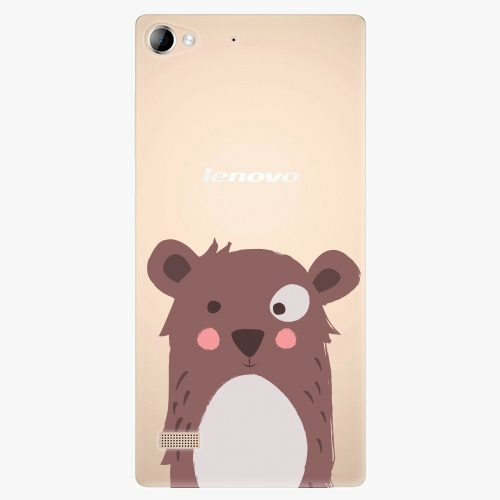 Plastový kryt iSaprio - Brown Bear - Lenovo Vibe X2