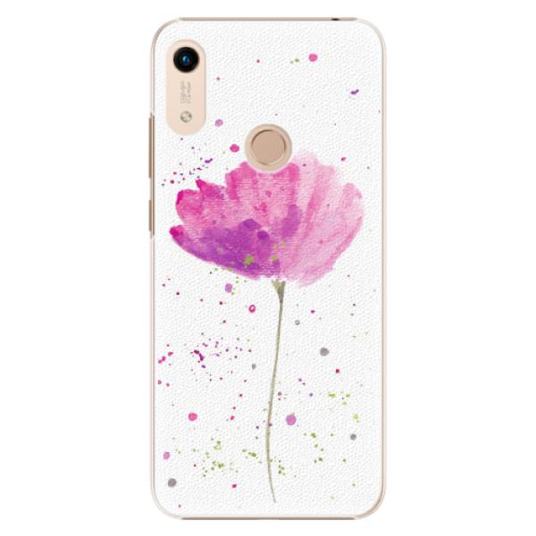 Plastové pouzdro iSaprio - Poppies - Huawei Honor 8A