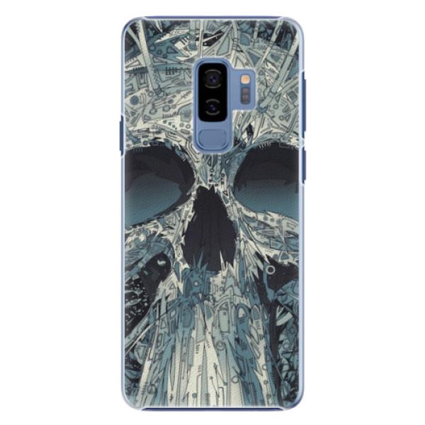 Plastové pouzdro iSaprio - Abstract Skull - Samsung Galaxy S9 Plus