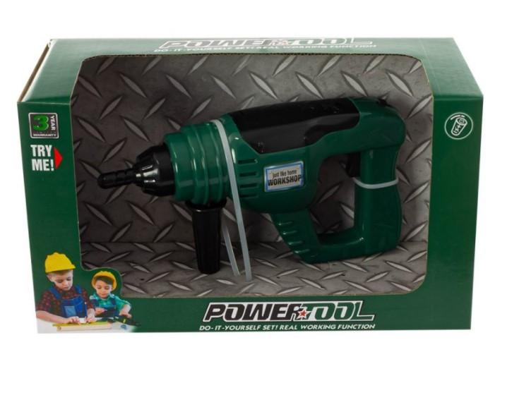 Tulimi dětská vrtačka na baterie - zelená