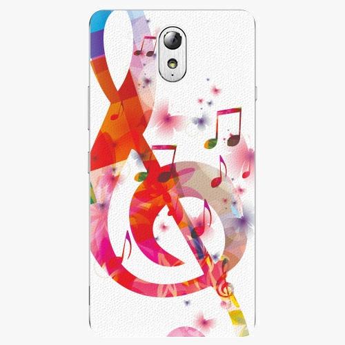 Plastový kryt iSaprio - Love Music - Lenovo P1m