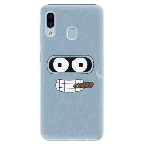 Plastové pouzdro iSaprio - Bender - Samsung Galaxy A30
