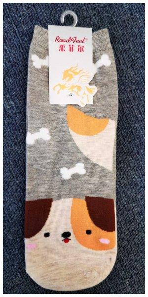 Ponožky s motivem zvířátek - Pejsek - vzor 1