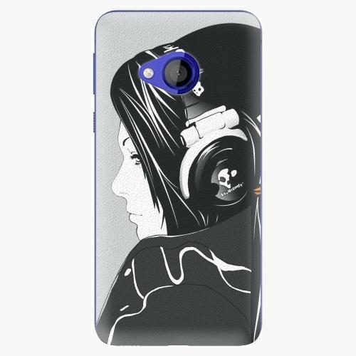 Plastový kryt iSaprio - Headphones - HTC U Play