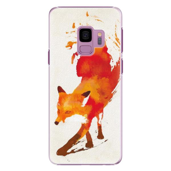 Plastové pouzdro iSaprio - Fast Fox - Samsung Galaxy S9