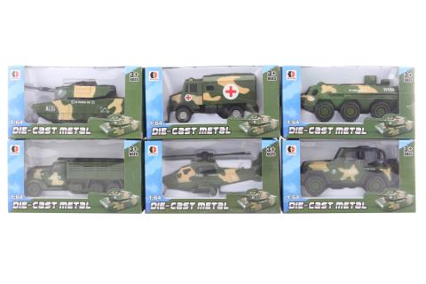 Vojenské auto kovové