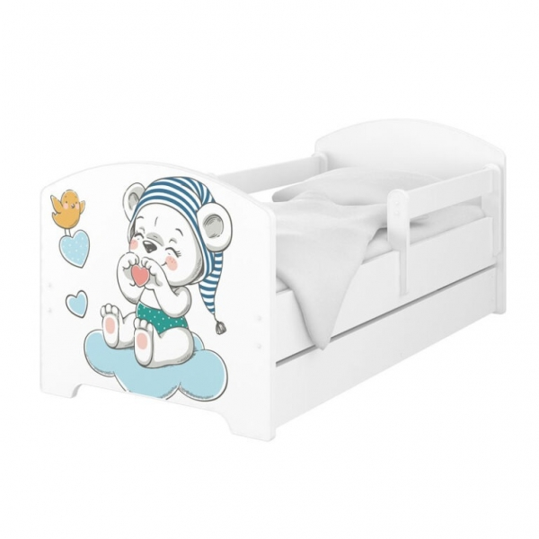 babyboo-detska-postel-140-x-70cm-medvidek-s-cepici-140x70