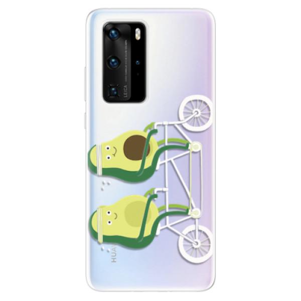 Odolné silikonové pouzdro iSaprio - Avocado - Huawei P40 Pro