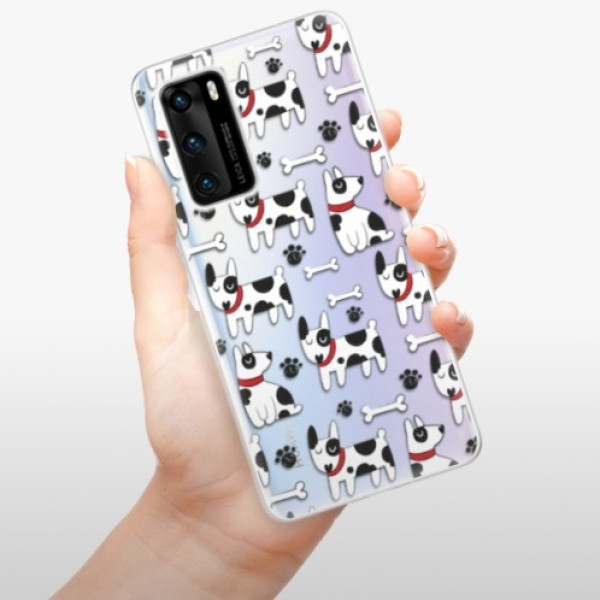 Odolné silikonové pouzdro iSaprio - Dog 02 - Huawei P40