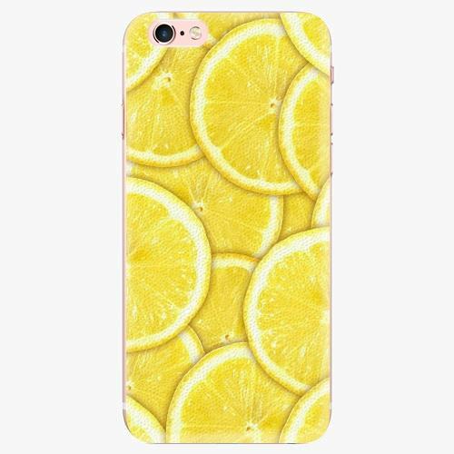 Silikonové pouzdro iSaprio - Yellow - iPhone 7