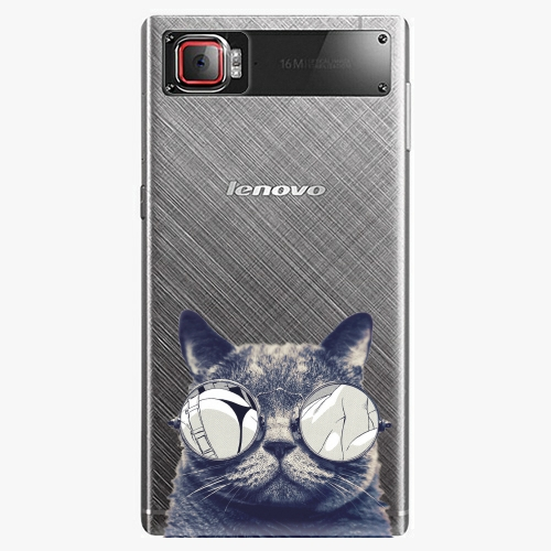 Plastový kryt iSaprio - Crazy Cat 01 - Lenovo Z2 Pro