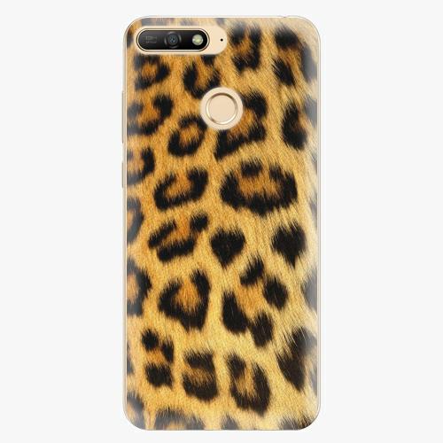 Silikonové pouzdro iSaprio - Jaguar Skin - Huawei Y6 Prime 2018