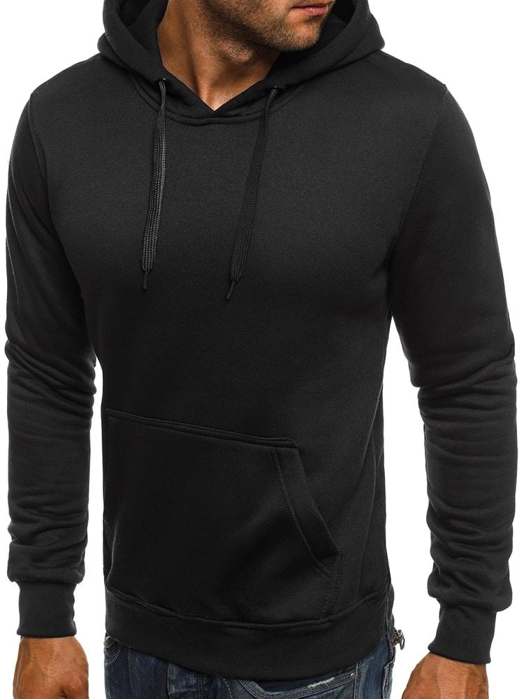 Pánská mikina s kapucí Y-2009 - J.Style - Černá/XL