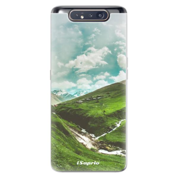 Odolné silikonové pouzdro iSaprio - Green Valley - Samsung Galaxy A80