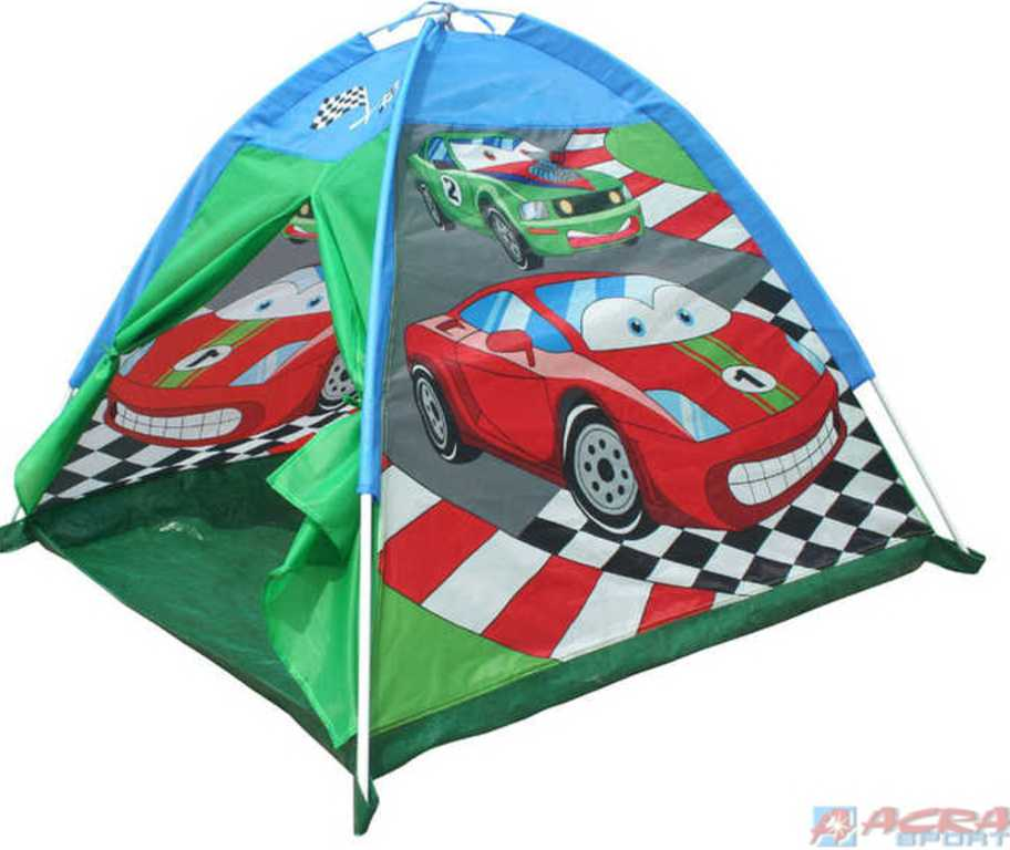 ACRA Stan dětský kopule CARS 112 x 112 x 94 cm