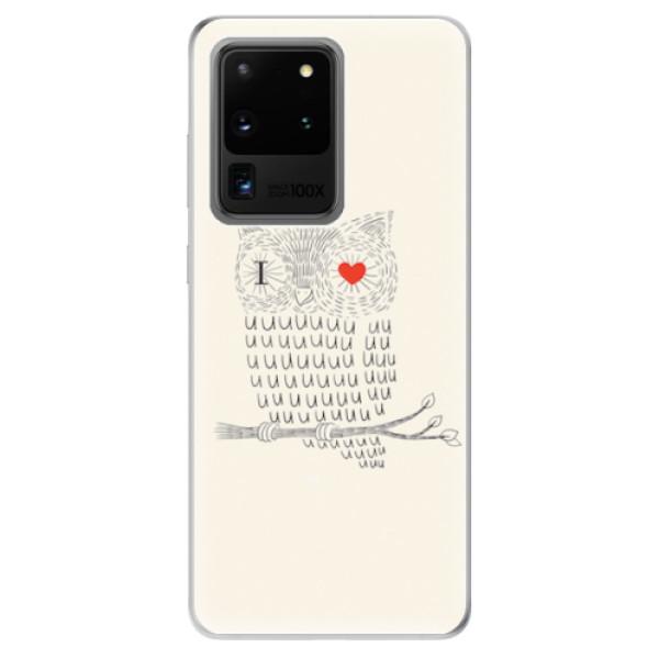 Odolné silikonové pouzdro iSaprio - I Love You 01 - Samsung Galaxy S20 Ultra