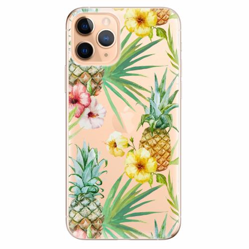 Silikonové pouzdro iSaprio - Pineapple Pattern 02 - iPhone 11 Pro
