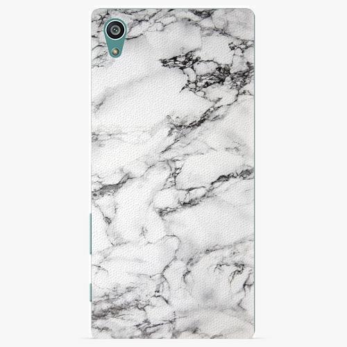 Plastový kryt iSaprio - White Marble 01 - Sony Xperia Z5