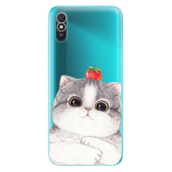 Odolné silikonové pouzdro iSaprio - Cat 03 - Xiaomi Redmi 9A