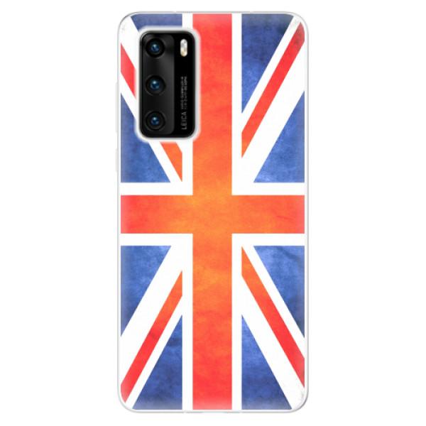 Odolné silikonové pouzdro iSaprio - UK Flag - Huawei P40