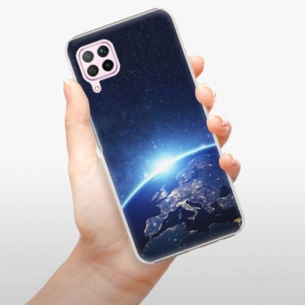 Plastové pouzdro iSaprio - Earth at Night - Huawei P40 Lite