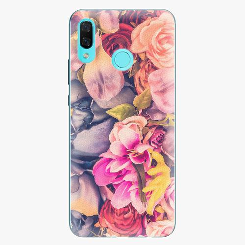 Plastový kryt iSaprio - Beauty Flowers - Huawei Nova 3