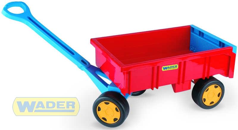 WADER Vlečka dětská (plastový vozík) nosnost max. 60 kg 10950
