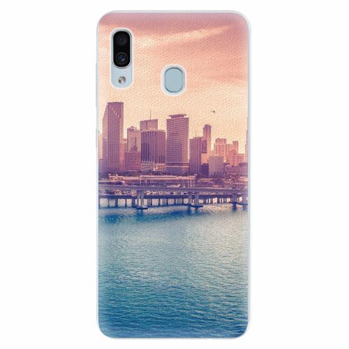 Silikonové pouzdro iSaprio - Morning in a City - Samsung Galaxy A30