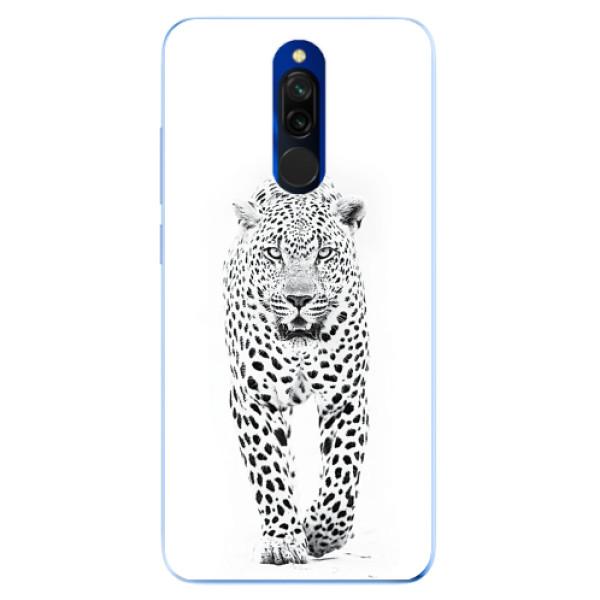 Odolné silikonové pouzdro iSaprio - White Jaguar - Xiaomi Redmi 8