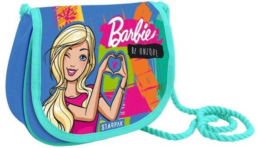 Kabelka dětská přes rameno Barbie 21x17x6cm