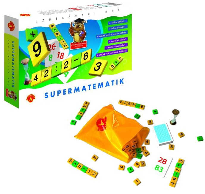 Hra SUPERMATEMATIK Alexander