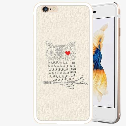 Plastový kryt iSaprio - I Love You 01 - iPhone 6 Plus/6S Plus - Gold