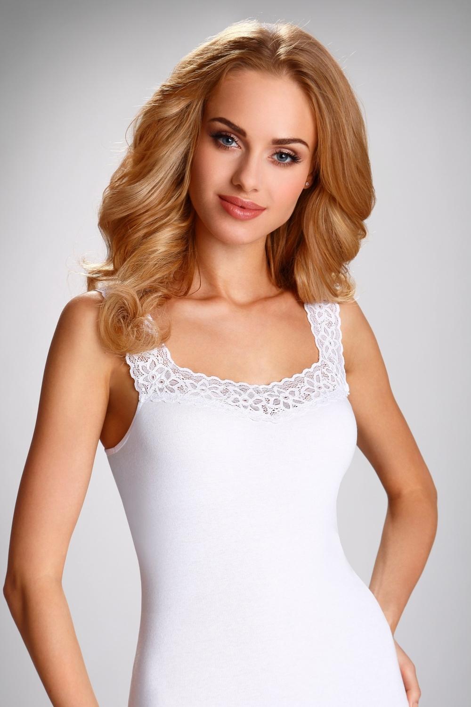 Dámská košilka Arietta white
