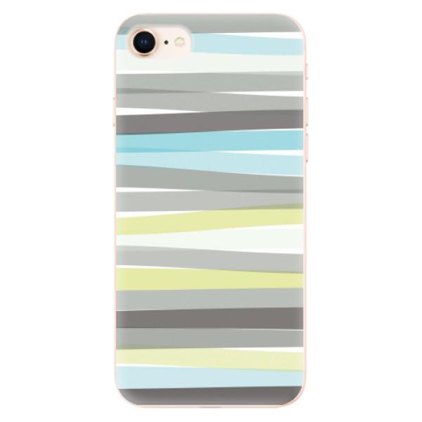 Odolné silikonové pouzdro iSaprio - Stripes - iPhone 8