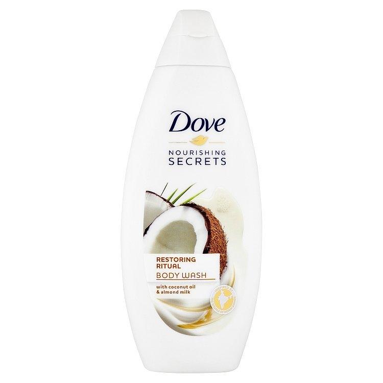 Sprchový gel kokosový olej a mandlové mléko 250 ml