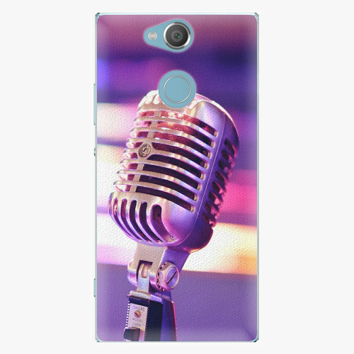 Plastový kryt iSaprio - Vintage Microphone - Sony Xperia XA2