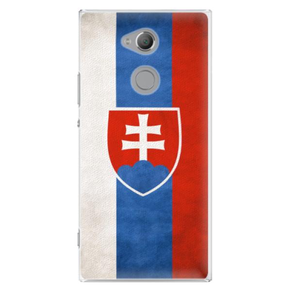 Plastové pouzdro iSaprio - Slovakia Flag - Sony Xperia XA2 Ultra