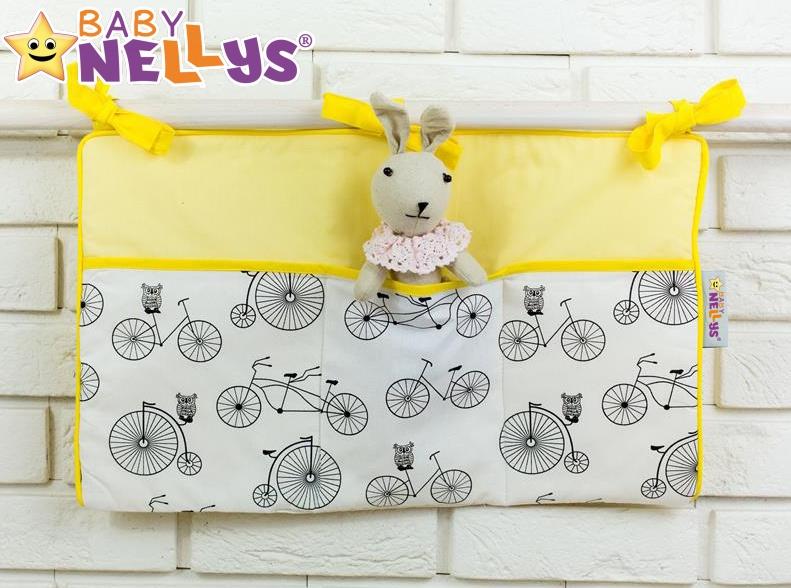Praktický kapsář na postýlku Baby Nellys ® - č. 06